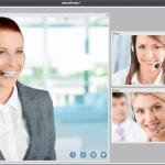 テレビ会議(Web会議)システム ビデオ会議モード2